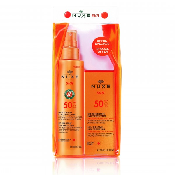 Nuxe - Sun PROMO Milky Spray SPF50 Αντηλιακό Γαλάκτωμα 150ml - Face Cream SPF50 Αντηλιακή Προσώπου 50ml