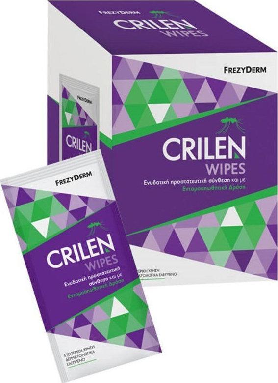 Frezyderm - Crilen Wipes 20 Ατομικά Φακελάκια