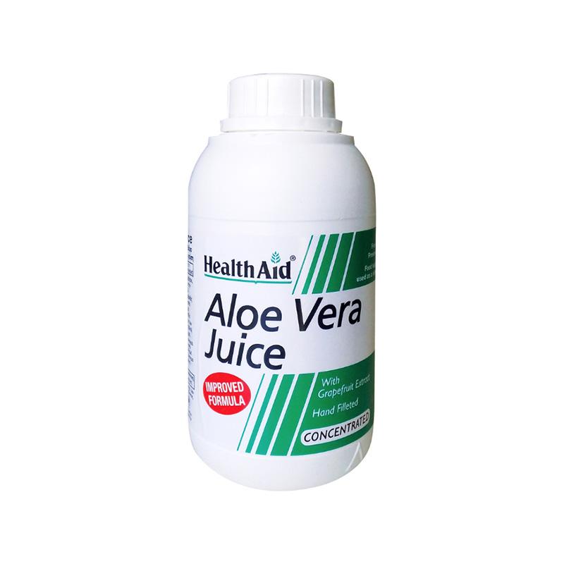 Health Aid Aloe Vera Juice, Συμπυκνωμένος Χυμός Αλόης 500ml