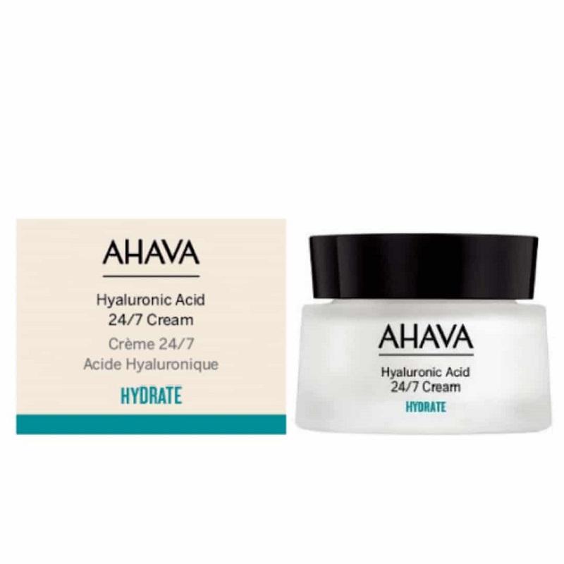 Ahava Hyaluronic Acid 24/7 Cream 24ωρη Ενυδατική Κρέμα Προσώπου με Υαλουρονικό 50ml