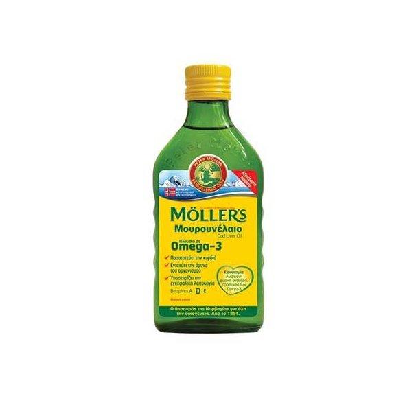 Mollers Μουρουνέλαιο natural Φυσική Γεύση 250ml
