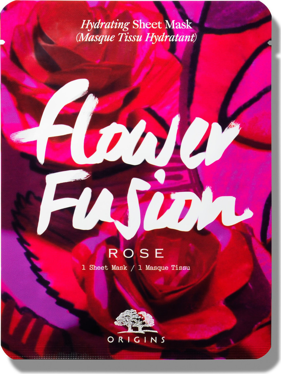 Origins - Flower Fusion Rose Sheet Mask 1τμχ