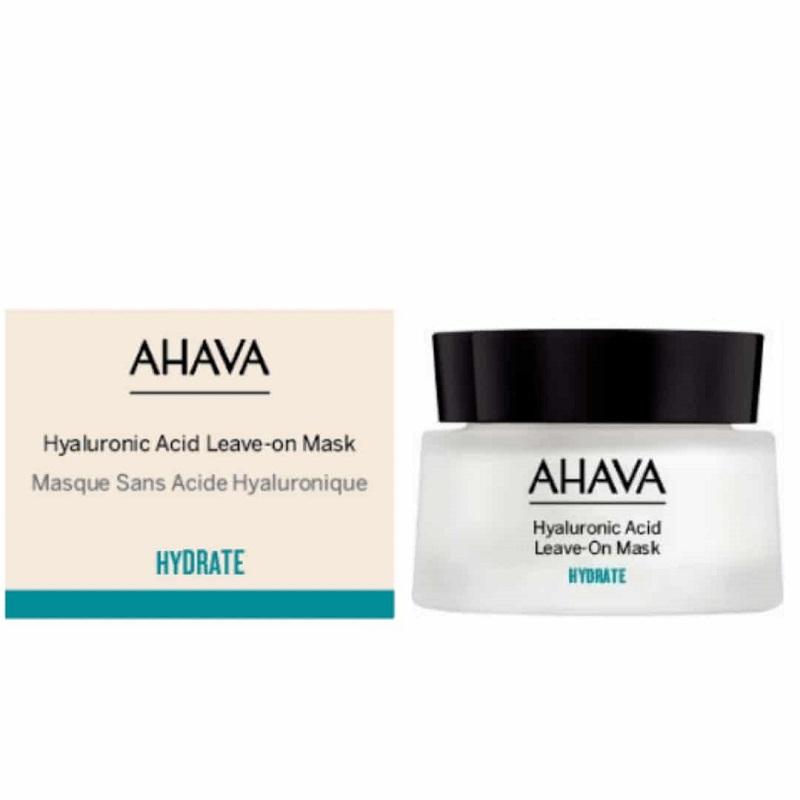 Ahava Hyaluronic Acid Leave-On Mask Ενυδατική - Καταπραϋντική Μάσκα Προσώπου με Υαλουρονικό 50ml