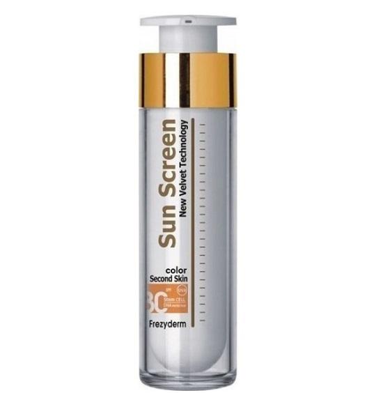 Frezyderm Sun Screen Color Velvet Face Cream Spf30, Αντιηλιακή Κρέμα Προσώπου με Χρώμα 50ml