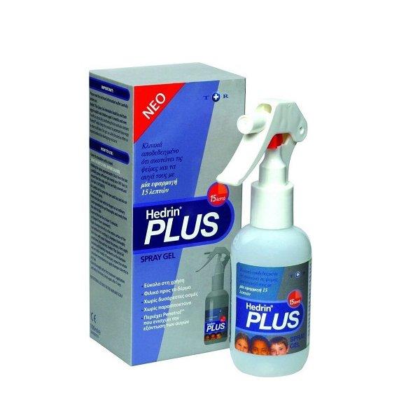 Hedrin Plus Spray Gel, Αντιφθειρικό 100ml