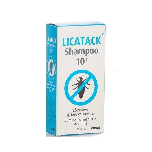 Licatack Shampoo 10, Aντιφθειρικό Σαμπουάν 100ml