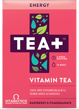 VITABIOTICS - Tea+ Energy Vitamin Tea 14 τμχ