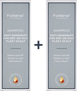 Foltene - Promo Set Shampoo Anti-Dandruff For Dry or Oily Flaky Scalp 1+1 2x200ml