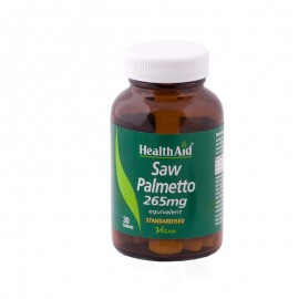 Health Aid Saw Palmetto Berry Extract Tablets, Διουρητικές Ιδιότητες Και Αντισηπτική Δράση 30tabs