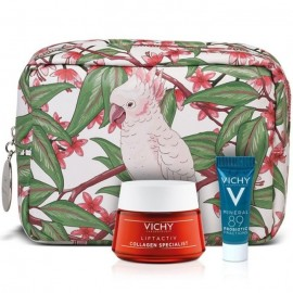 Vichy Liftactiv Collagen Specialist 50ml & Mineral 89 Probiotic Fractions 5ml & ΔΩΡΟ Νεσεσέρ SPRING POUCH.