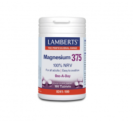 Lamberts Magnesium 375 100% NRV One A Day 180 tabs 8241-180
