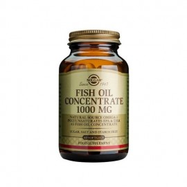 Solgar Fish Oil Concentrate 1000mg, Συμπυκνωμένο Ιχθυέλαιο 60 μαλακές κάψουλες