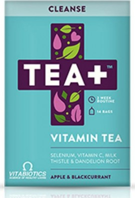 VITABIOTICS Tea+ Cleanse Vitamin Tea - 14t