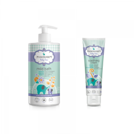 Pharmasept Gift Set Baby Mild Bath 1L & Baby Soothing Cream 150ml