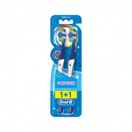 Oral-B Complete 5 Way Clean Οδοντόβουρτσα Μέτρια 2 τεμ