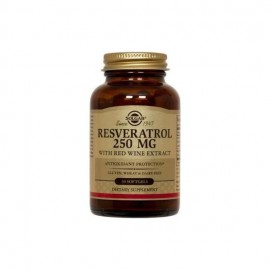 Solgar Resveratrol 250mg with Red Wine Extract 30 μαλακές κάψουλες