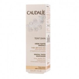 Caudalie Teint Divin Tinted Moisturizer Light To Medium Skin, Ενυδατική Κρέμα με Χρώμα 30ml