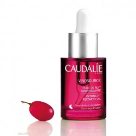 Caudalie Vinosource Overnight Recovery Oil, Επανορθωτικό & Καταπραϋντικό Λάδι Νυκτός 30ml