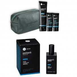 Medisei Gift Set Panthenol Extra Γκρί Νεσεσέρ & Men Eau de Toilette Wood Chocolate Oriental 50ml