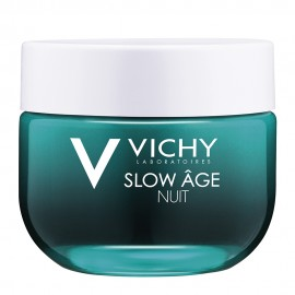 Vichy Slow Age Night, Δροσερή Κρέμα & Μάσκα 2 σε 1 με Φυσικό Χρώμα 50ml