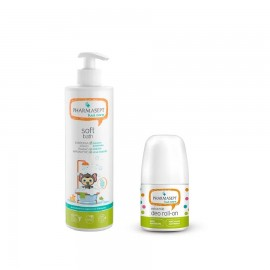 Pharmasept Gift Set Kid Care Soft Bath 500ml & Kid Care Extra Mild Deo Roll-On 50ml