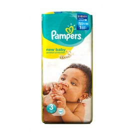 Pampers Βρεφικές Πάνες New Baby Midi No3 (4-7 Kg) 50τεμ
