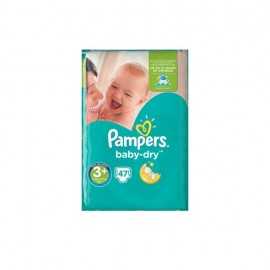 Pampers Βρεφικές Πάνες Baby Dry Magical Pods Midi No3+ (6-10 κιλά) 47τμχ
