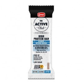 Lanes The Active Club High Protein Bar, Μπάρα με Υψηλή Περιεκτικότητα σε Πρωτεΐνη 60g