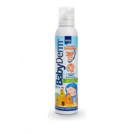 Intermed - BabyDerm Invisible Sunscreen Spray SPF50+ for Kids Αντηλιακό Σπρέι για Παιδιά, 200ml