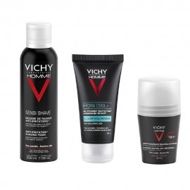 Vichy Gift Set Homme Shaving Foam 200ml & Hydra Cool Gel 50ml & Deodorant 72H 50ml