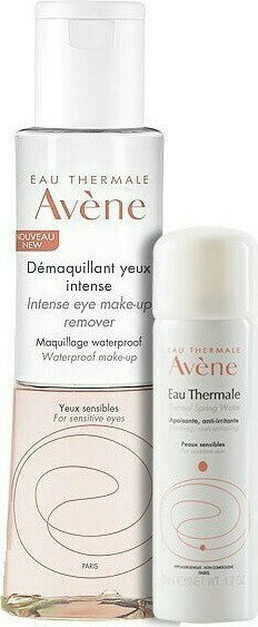 Avene - PROMO PACK Demaquillant Yeux Intense 125ml & ΔΩΡΟ Thermal Spring Water Ιαματικό Νερό 50ml