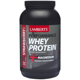 Lamberts Performance Whey Protein Strawberry, Πρωτεΐνη με Γεύση Φράουλα 1000gr