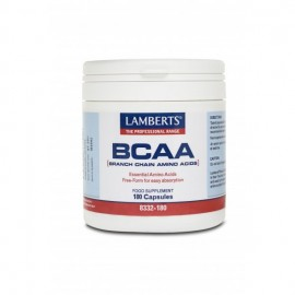 Lamberts BCAA Branch Chain Amino Acids, Συνδυασμός Αμινοξέων 180 κάψουλες