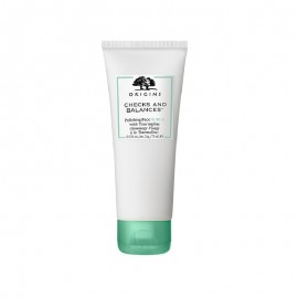 Origins Checks and Balances Tour Face Smoothing with Tourmaline Exfoliating Face Scrub for Deep Cleansing, 75ml