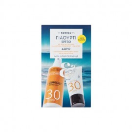 Korres Set Promo Body Emulsion SPF30 150ml + Δώρο Sunscreen Face Cream SPF30 50ml