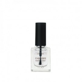 Korres Base Coat Gel Effect Nail Colour, Διάφανη Βάση Νυχιών 11ml