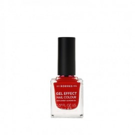 Korres 53 Royal Red Gel Effect Nail Colour 11ml