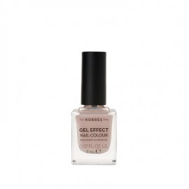 Korres 31 Sandy Nude Gel Effect Nail Colour 11ml