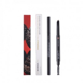 Korres Precision Brow Pencil - 01 Dark Shade Minerals 0.2g