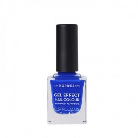 Korres 86 Ocean Blue Gel Effect Nail Colour 11ml