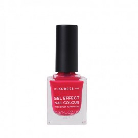 Korres 22 Juicy Fuchsia Gel Effect Nail Colour 11ml