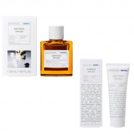 Korres Gift Set Eau De Toilette Saffron Spices 50ml & Aftershave Balm Saffron Spices 125ml