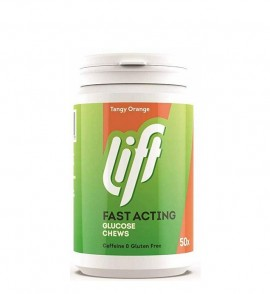 Gluco Tabs Lift Fast Acting Glucose Chews Tangy Orange Ταμπλέτες Υπογλυκαιμίας με Γεύση Πορτοκάλι 50 tabs