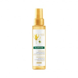 Klorane SoinSoleil Sun Radiance Protective Oil Ylang-Ylang, Προστατευτικό Έλαιο Μαλλιών για τον Ήλιο 200ml