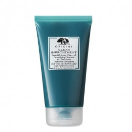 Origins Clear Improvement Zero Oil Active Charcoal Detoxifying Cleanser to Clear Pores Facial Cleansing Gel 150ml