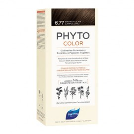 Phyto PhytoColor Marron Clair Cappuccino 6.77, Βαφή Μαλλιών Μαρόν Ανοιχτό Καπουτσίνο, 1τεμ