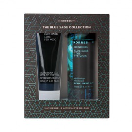 Korres Promo Blue Sage Aftershave 125ml & ΔΩΡΟ Showergel 250ml