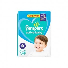 Pampers Βρεφικές Πάνες Active Baby Dry Maxi Pack No6 (13-18kg) 44τμχ
