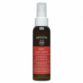 Apivita Bee Sun Safe Hydra Protective Sun Filters Hair Oil with Sunflower & Abyssinian Oil 100ml