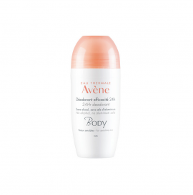 Avene - Body Deodorant Efficacite 24h Roll-On Αποσμητικό, 50ml